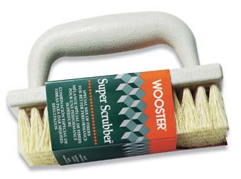 WOOSTER 1828 SUPER SCRUBBER BRUSH PACK:4 PCS.