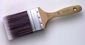 "WOOSTER 4156 ULTRA/PRO JAGUAR EXTRA FIRM WALL BRUSH SIZE:3"" PACK:6 PCS."