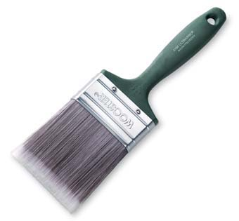 """WOOSTER 4186 ULTRA/ PRO SHERGRIP SABLE FIRM VARNISH SIZE:3"""" PACK:6 PCS."""