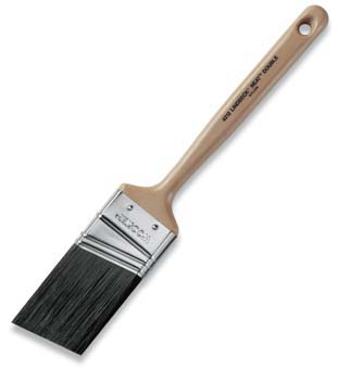 "WOOSTER 4212 LINDBECK NEAT ANGULAR SASH PAINT BRUSH SIZE:2.5"" PACK:6 PCS."