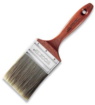 "WOOSTER J4104 SUPER PRO ERMINE PAINT BRUSH SIZE:2.5"" PACK:6 PCS."
