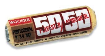 """WOOSTER R296 50/50 ROLLER COVER SIZE:18"""" 3/4"""" PACK:6 PCS."""