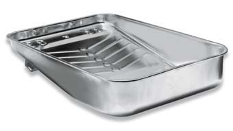 "WOOSTER R405 HEFTY DEEP WELL TRAY SIZE:13"" PACK:10 PCS."