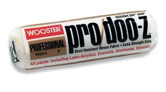 """WOOSTER RR644 PRO/DOO-Z ROLLER SIZE:18"""" NAP:3/4"""" PACK:6 PCS."""