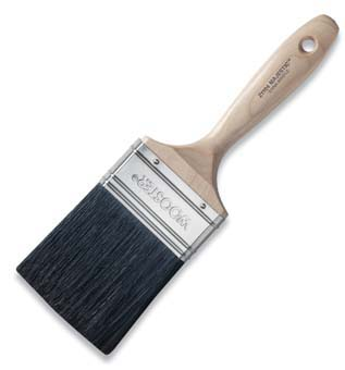 "WOOSTER Z1104 MAJESTIC PAINT BRUSH BLACK CHINA SIZE:2 1/2"" PACK:6 PCS."