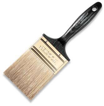 "WOOSTER Z1120 YACHTSMAN W CHINA BRISTLE FLAT PAINT BRUSH SIZE:3"" PACK:12 PCS."