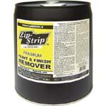 ZIP STRIP 272005 PREMIUM PAINT AND FINISH REMOVER SIZE:5 GALLONS.