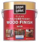 ABSOLUTE COATINGS 53101 LAST N LAST POLYURETHANE WOOD FINISH SATIN 450 VOC SIZE:1 GALLON.