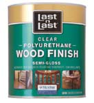 ABSOLUTE COATINGS 53204 LAST N LAST POLYURETHANE WOOD FINISH SEMI GLOSS 450 VOC SIZE:QUART.