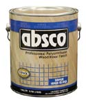 ABSOLUTE COATINGS 89501 ABSCO POLYURETHANE WOOD FLOOR FINISH GLOSS 350  VOC SIZE:1 GALLON.