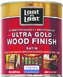 ABSOLUTE COATINGS 92104 LAST N LAST ULTRA GOLD WOOD FINISH SATIN 275 VOC SIZE:QUART.
