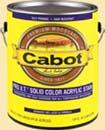 CABOT STAIN 40801 PRO V.T. WHITE BASE  SOLID ACRYLIC SIZE:QUART.