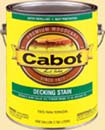 CABOT STAIN 51407 DEEP BASE DECKING  STAIN SIZE:5 GALLONS.