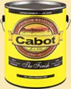 CABOT STAIN 11701 WHITE BASE THE FINISH W/ TEFLON SURFACE PROTECTOR SIZE:1 GALLON.