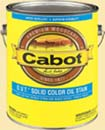 CABOT STAIN 16508 MEDIUM BASE O.V.T. SOLID OIL STAIN SIZE:1 GALLON.