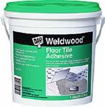 DAP 00137 WELDWOOD FLOOR TILE ADHESIVE CLEAR SIZE:1 GALLON.