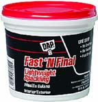 DAP 12142 FAST N FINAL LIGHTWEIGHT SPACKLING (RTU) SIZE:QUART.