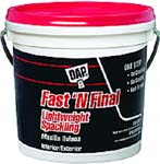DAP 12143 FAST N FINAL LIGHTWEIGHT SPACKLING (RTU) SIZE:1 GALLON.