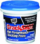 DAP 12374 CRACKSHOT HIGH PERFORMANCE SPACKLING PASTE SIZE:0.5 PINT.