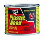 DAP 21404 PLASTIC WOOD SOLVENT WOOD FILLER PINE SIZE:4 OZ PACK:12 PCS.