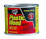 DAP 21424 PLASTIC WOOD SOLVENT WOOD FILLER RED MAHOGANY SIZE:4 OZ PACK:12 PCS.
