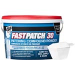 DAP 58550 FASTPATCH 30 PATCHING COMPOUND POWDER SIZE:3.5 LBS.