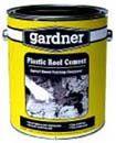 GARDNER GIBSON 0341-GA PLASTIC ROOF CEMENT SIZE:1 GALLON.