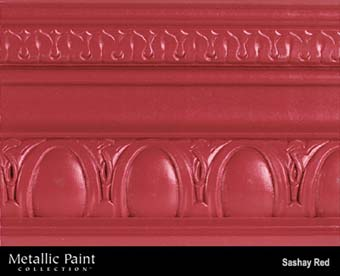 MODERN MASTERS METALLIC PAINT 99832 ME-513 SASHAY RED SIZE:6 OZ.