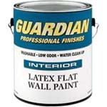 VALSPAR 211 GUARDIAN INT LATEX FLAT BRT WHITE / PASTEL BASE SIZE:1 GALLON.