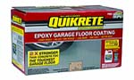 VALSPAR QUIKRETE 50032 CLEAR EPOXY WATER BASED GARAGE FLOOR COATING KIT 250 VOC SIZE:1 GALLON.
