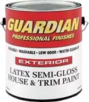 VALSPAR 755 GUARDIAN CONTRACTOR EXT LATEX S/G HOUSE & TRIM WHITE SIZE:1 GALLON.